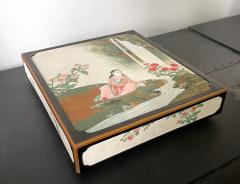 Rare Japanese Lacquer Writing Box Suzuribako Meiji Period - 2125492