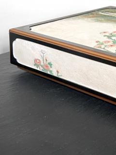 Rare Japanese Lacquer Writing Box Suzuribako Meiji Period - 2125498