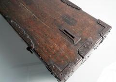 Rare Japanese Wood Chest Zenibako on Custom Stand - 1389591