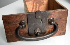 Rare Japanese Wood Chest Zenibako on Custom Stand - 1389592
