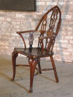 Rare Late 18th Century George III Gothick Yew Wood Windsor Chair - 670524