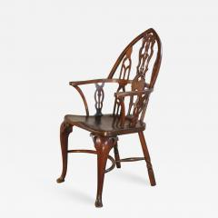 Rare Late 18th Century George III Gothick Yew Wood Windsor Chair - 672010