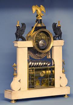 Rare Louis XVI French Musical Mantle Clock - 75641