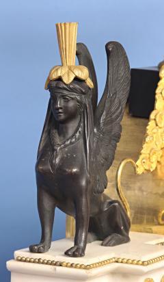 Rare Louis XVI French Musical Mantle Clock - 75643