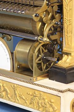 Rare Louis XVI French Musical Mantle Clock - 75644