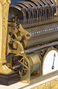 Rare Louis XVI French Musical Mantle Clock - 75645