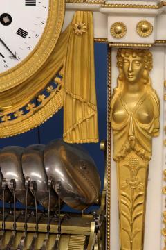 Rare Louis XVI French Musical Mantle Clock - 75646