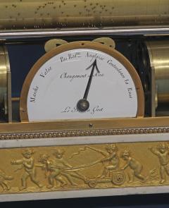 Rare Louis XVI French Musical Mantle Clock - 75647