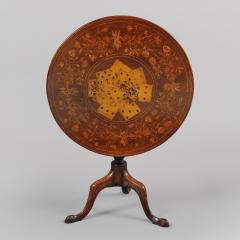 Rare Marquetry Inlaid Tea Table - 398654