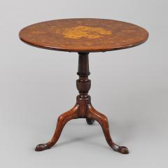 Rare Marquetry Inlaid Tea Table - 398656