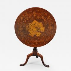 Rare Marquetry Inlaid Tea Table - 398855