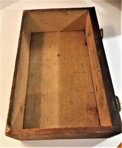 Rare Miniature Mahogany Federal 3 Drawer Chest Circa 1810 Mid Atlantic - 2075133