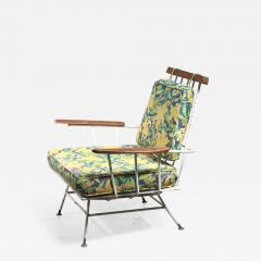 Rare Minimal Wrought Iron Lounge Chair - 1451542