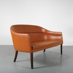 Rare Ole Wanscher Sofa for J Jeppesen Denmark 1950 - 1465793
