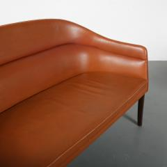 Rare Ole Wanscher Sofa for J Jeppesen Denmark 1950 - 1465794