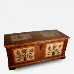 Rare Painted Blanket Chest - 81402