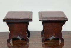 Rare Pair of Georgian Dresser Stools - 654885