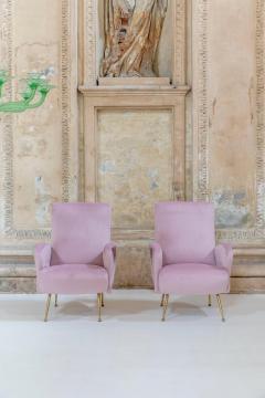 Rare Pair of Italian Midcentury Armchairs - 1572949