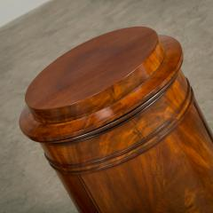 Rare Pair of Round Late Empire Pedestal Cabinets - 910628