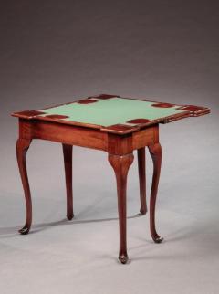 Rare Queen Anne Five Legged Triple Top Card Table - 558980