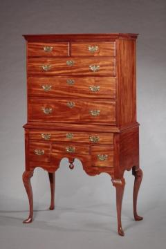 Rare Queen Anne Highboy Attributed to Christopher Townsend - 558960