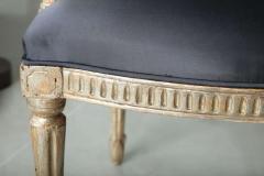 Rare Set of Four Italian Neoclassic Silver Gilt Armchairs - 403436