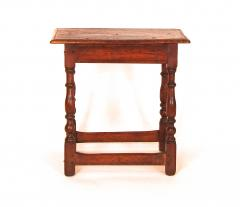 Rare White Butternut and Pine Joint Stool - 1040818