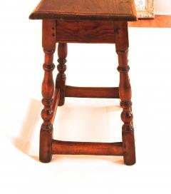 Rare White Butternut and Pine Joint Stool - 1040819