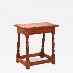 Rare White Butternut and Pine Joint Stool - 1042147