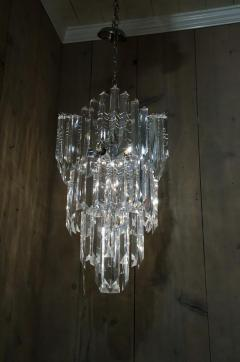 Rare and Attractive Pair of Mid Century Lucite Chandeliers - 483600