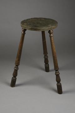Rare and Early Slate Top Kettle Stand - 332414