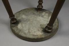 Rare and Early Slate Top Kettle Stand - 332415