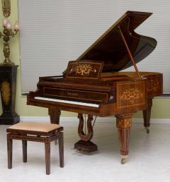 Rare and Historically Significant Marquetry Inlaid Grand Piano B sendorfer - 40496