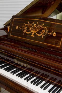 Rare and Historically Significant Marquetry Inlaid Grand Piano B sendorfer - 40497
