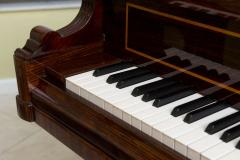 Rare and Historically Significant Marquetry Inlaid Grand Piano B sendorfer - 40498