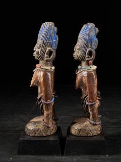 Rare pair of very old Yoruba Ibeji Figures - 1981176