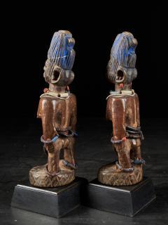 Rare pair of very old Yoruba Ibeji Figures - 1981177