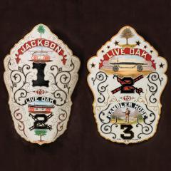 Rare presentation fire shields - 926533