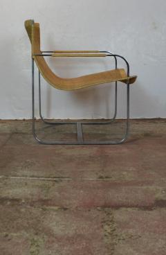 Rattan Chrome Lounge Chairs by Milo Baughman - 1101602