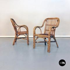 Rattan armchairs 1960s - 1968304