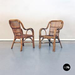 Rattan armchairs 1960s - 1968305
