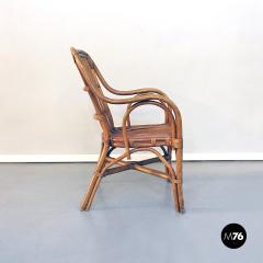 Rattan armchairs 1960s - 1968332