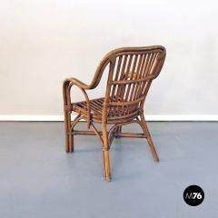 Rattan armchairs 1960s - 1968338