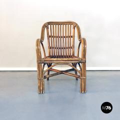Rattan armchairs 1960s - 1968343