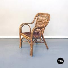 Rattan armchairs 1960s - 1968344