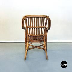 Rattan armchairs 1960s - 1968349