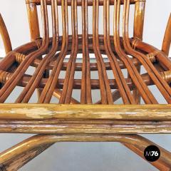 Rattan armchairs 1960s - 1968367