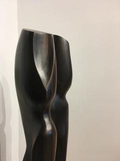 Raul Varnerin Vintage Abstract Sculpture of two combined figures - 1286413
