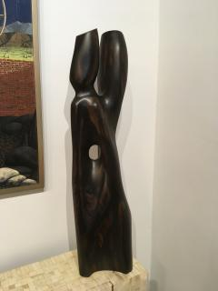 Raul Varnerin Vintage Abstract Sculpture of two combined figures - 1286422