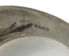 Raymond C Yard ART DECO RAYMOND YARD EMERALD DIAMOND PLATINUM RING - 1094409